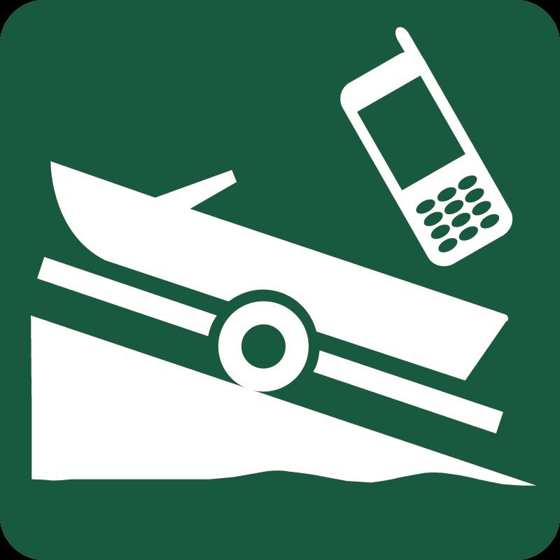 Isætningssted med opkald for kode Naturstyrelsens skilt