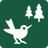 Fuglelokalitet Naturstyrelsens skilt