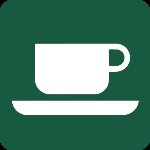 Café Naturstyrelsens skilt
