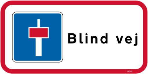 Blind vej skilt